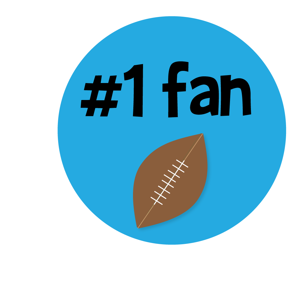 Fan panda free images. Clipart mom football