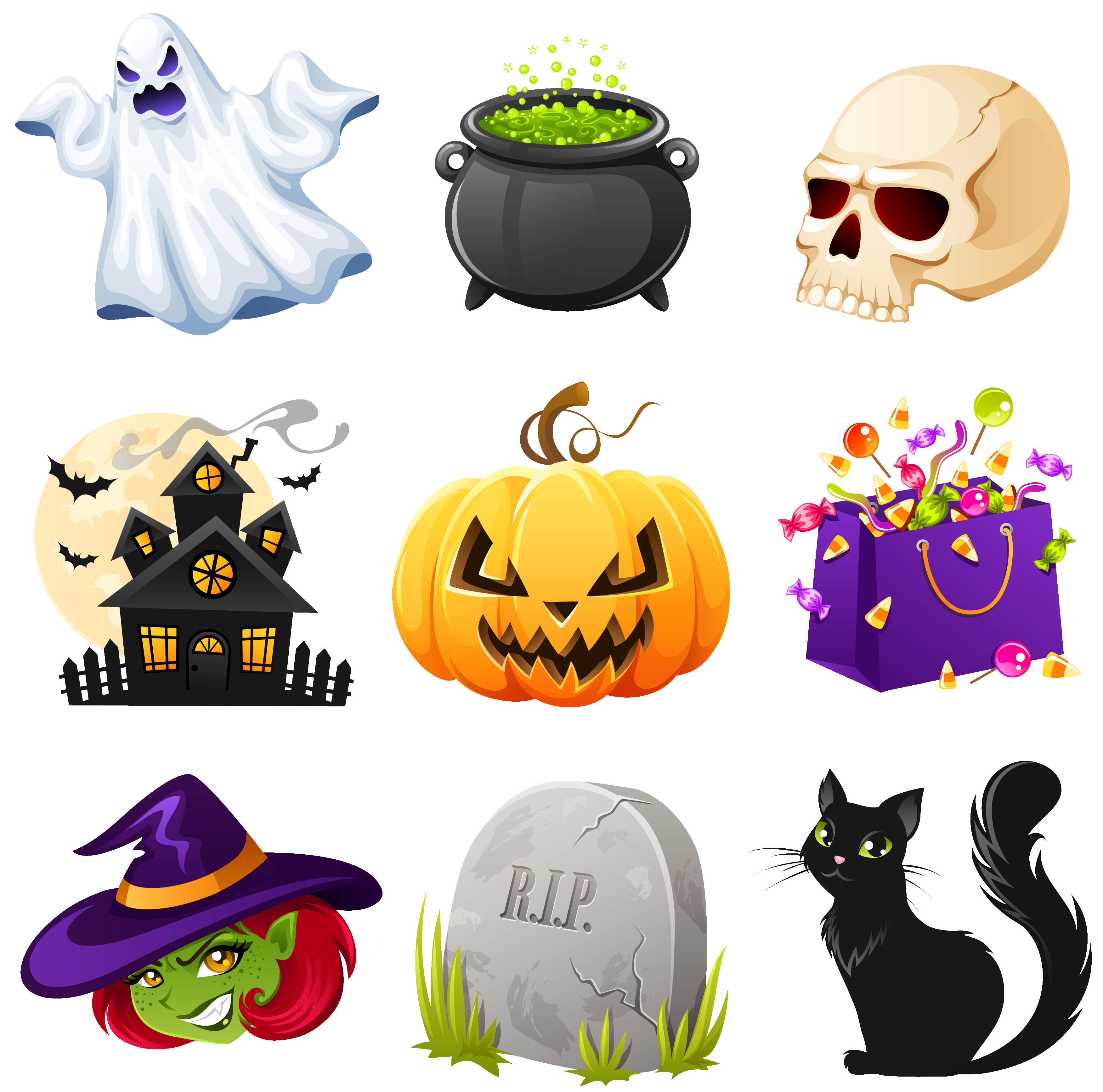 Clipart halloween design. Png creepy pictures collection