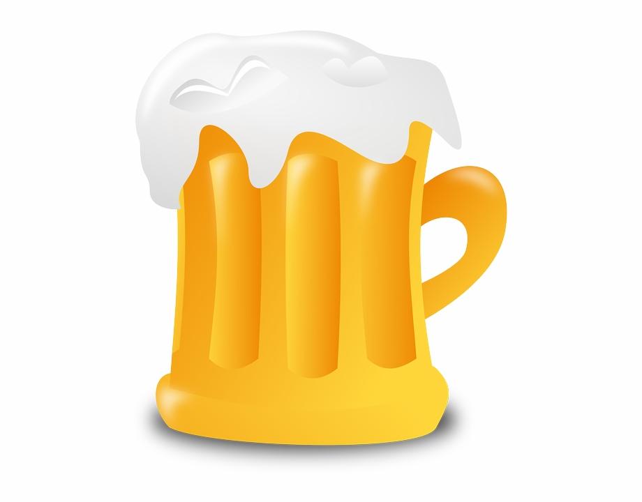 Mug germany drink alcohol. Clipart beer jar