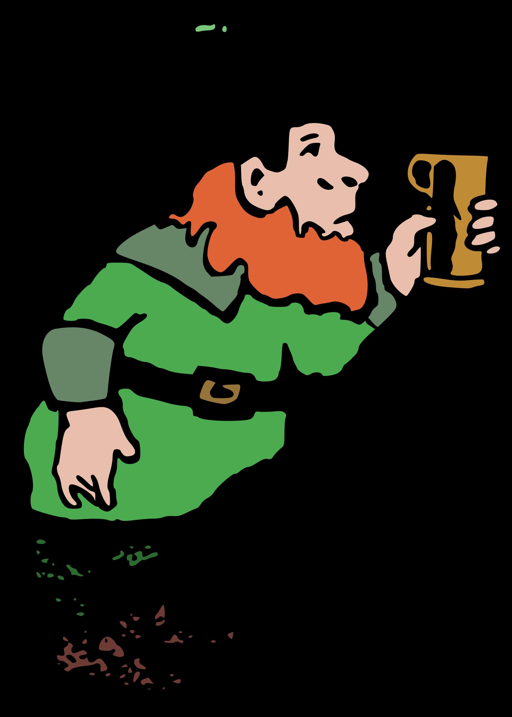 Leprechaun clipart lucky leprechaun. And beer big image