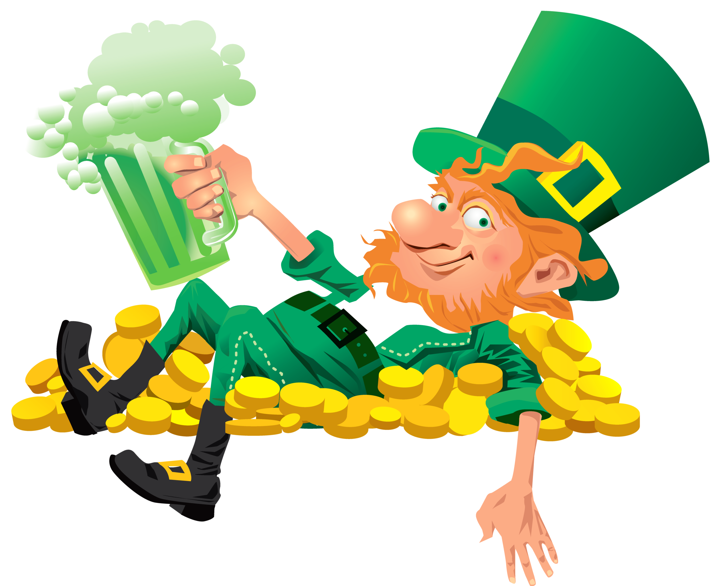 Sweet science boxing can. Fart clipart leprechaun