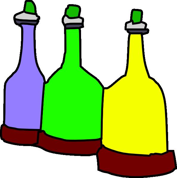 Drinking clipart empty bottle. Cartoon bottles clip art