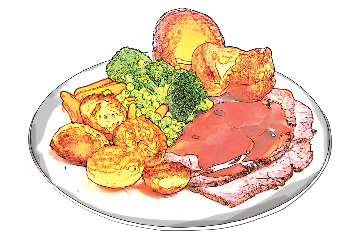 hungry clipart sunday lunch