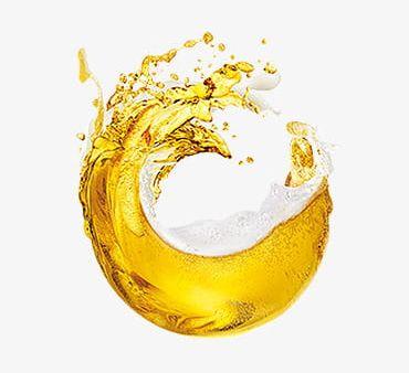 Clipart beer splash. Golden png