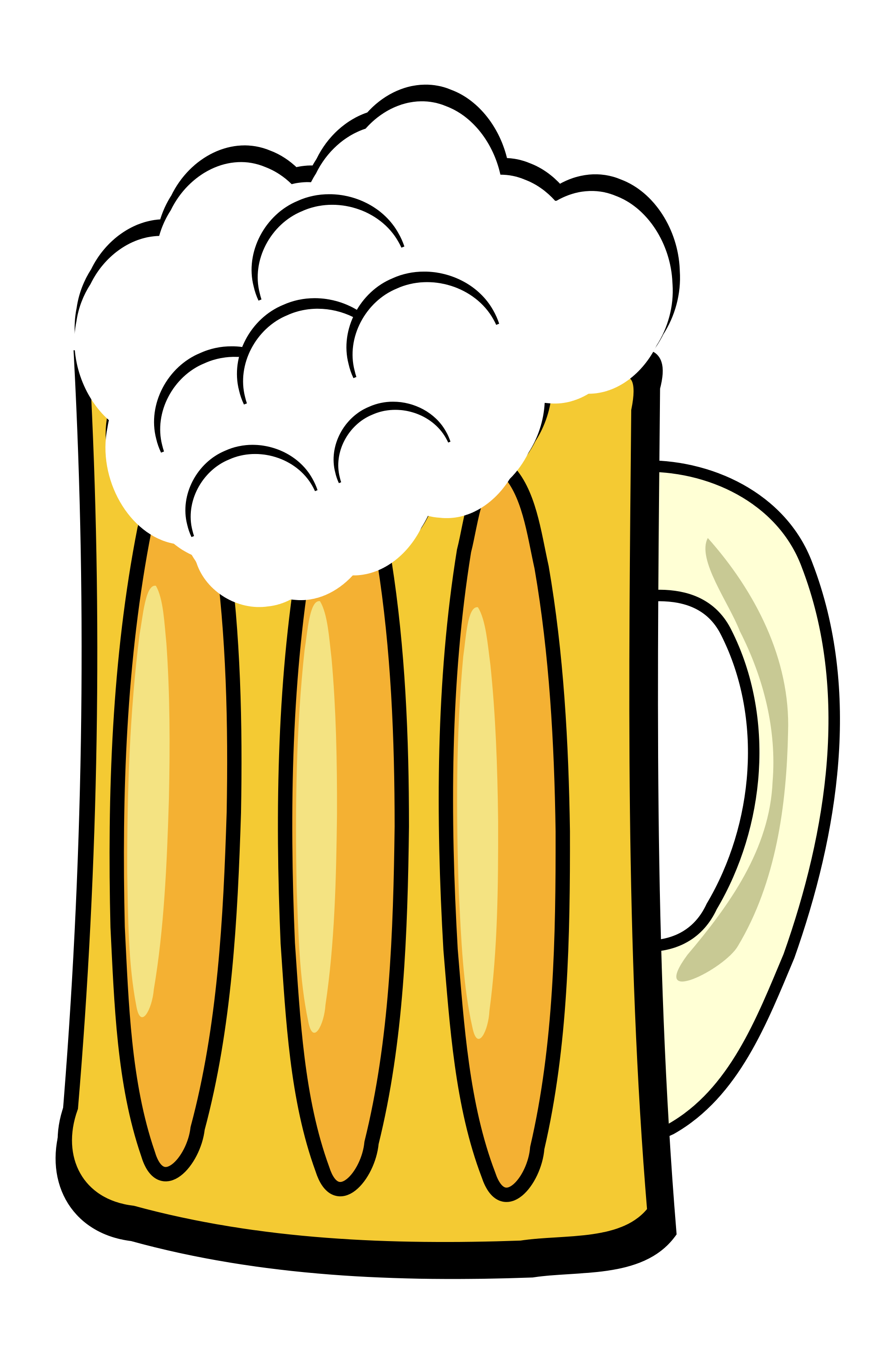 Mug clipart one object. File frosty beer svg