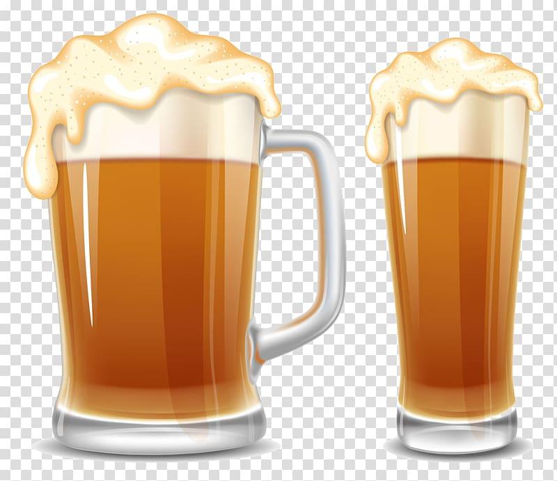 Beer cup cartoon two. Oktoberfest clipart pilsner glass