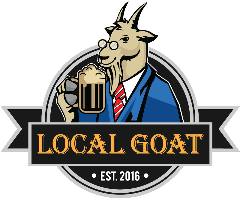 Drinking clipart bar menu. Local goat in pigeon