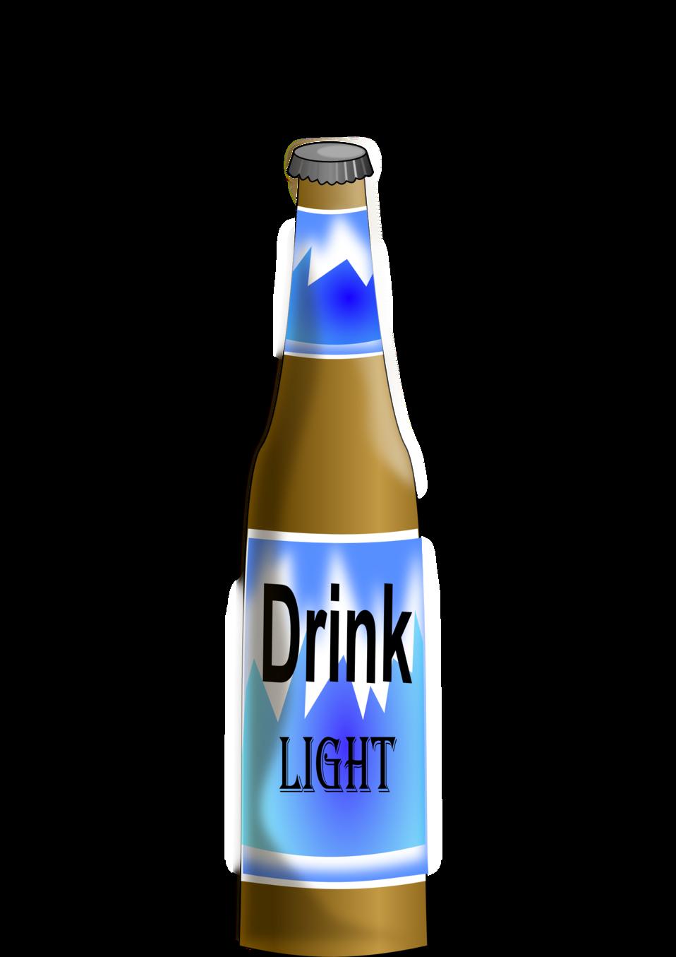 Drinks clipart cold drink bottle. Public domain clip art
