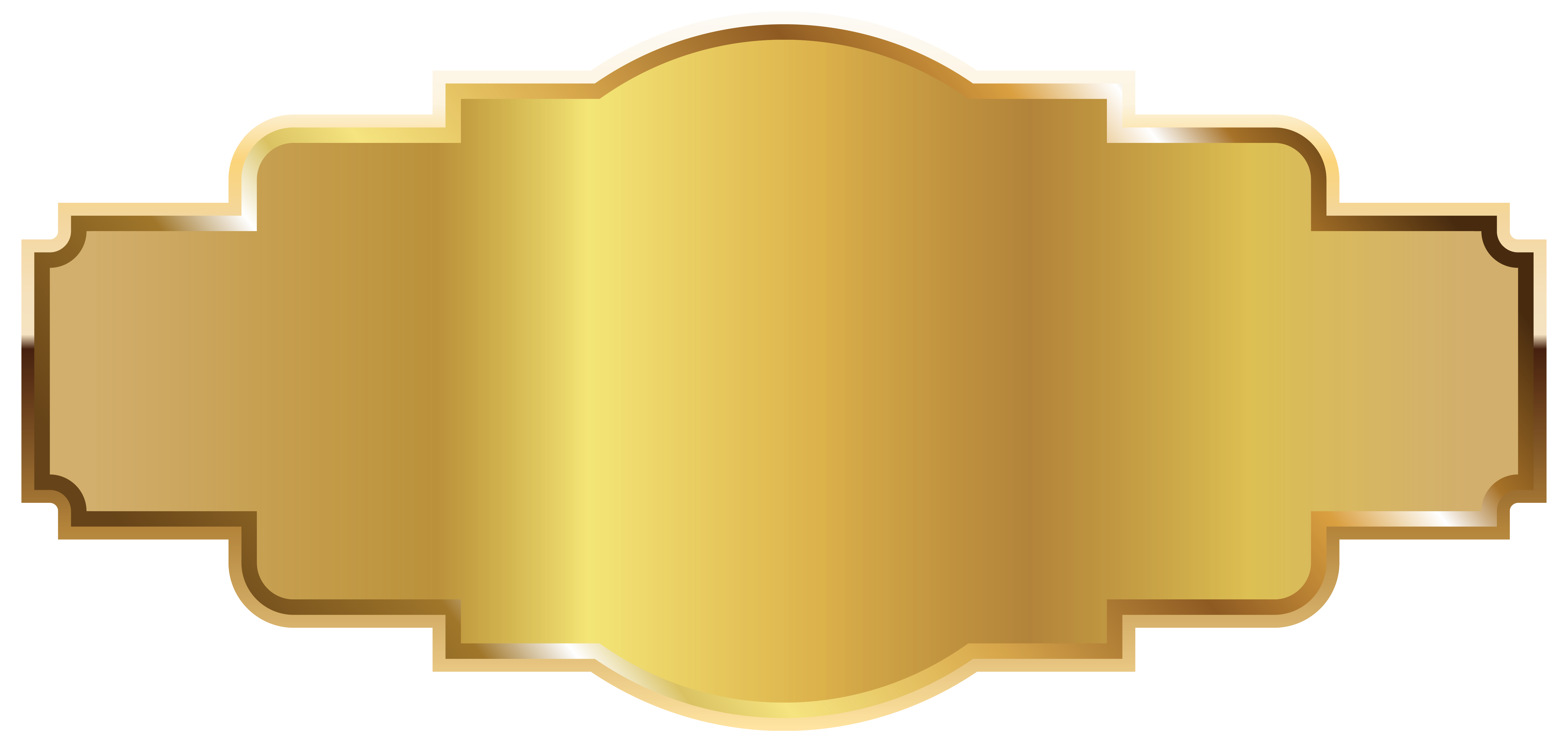 Gold label template png. Name clipart name tag