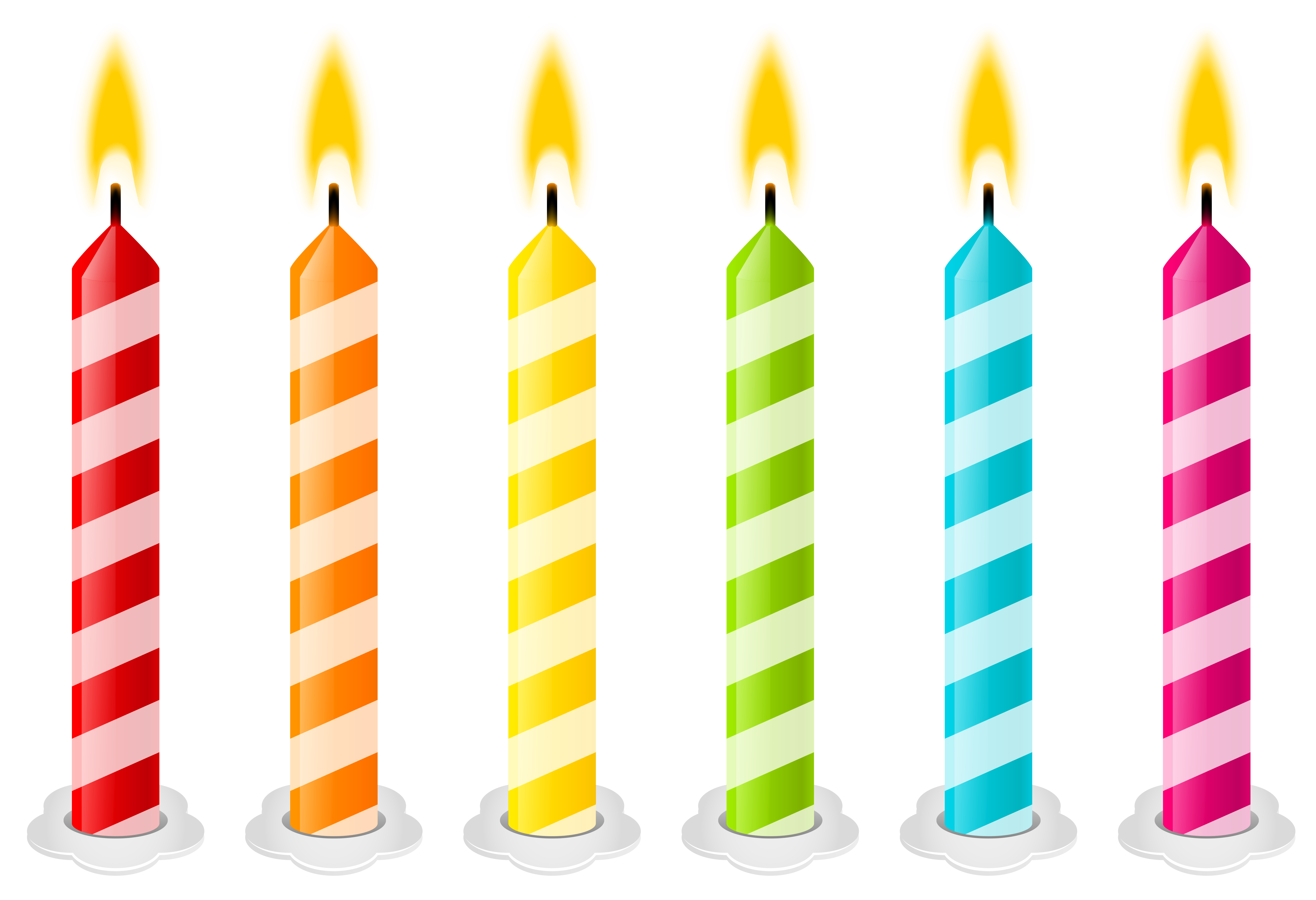 Clipart book candle. Birthday candles png vector