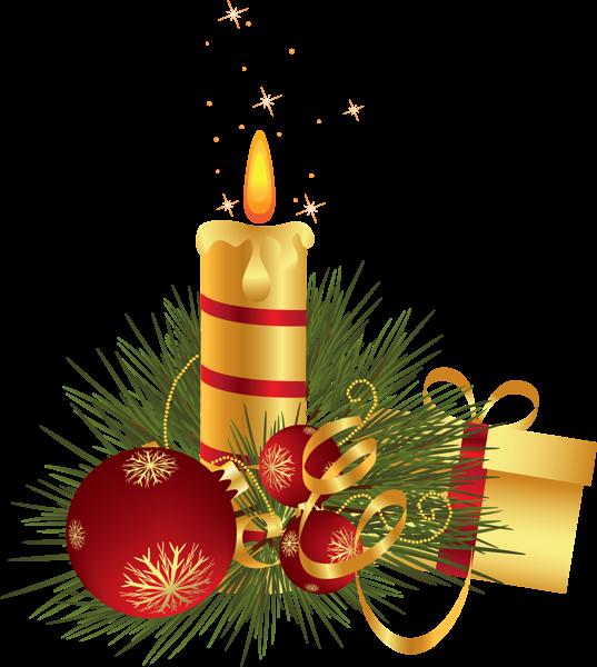 Clipart christmas scripture. Candle decoration d png