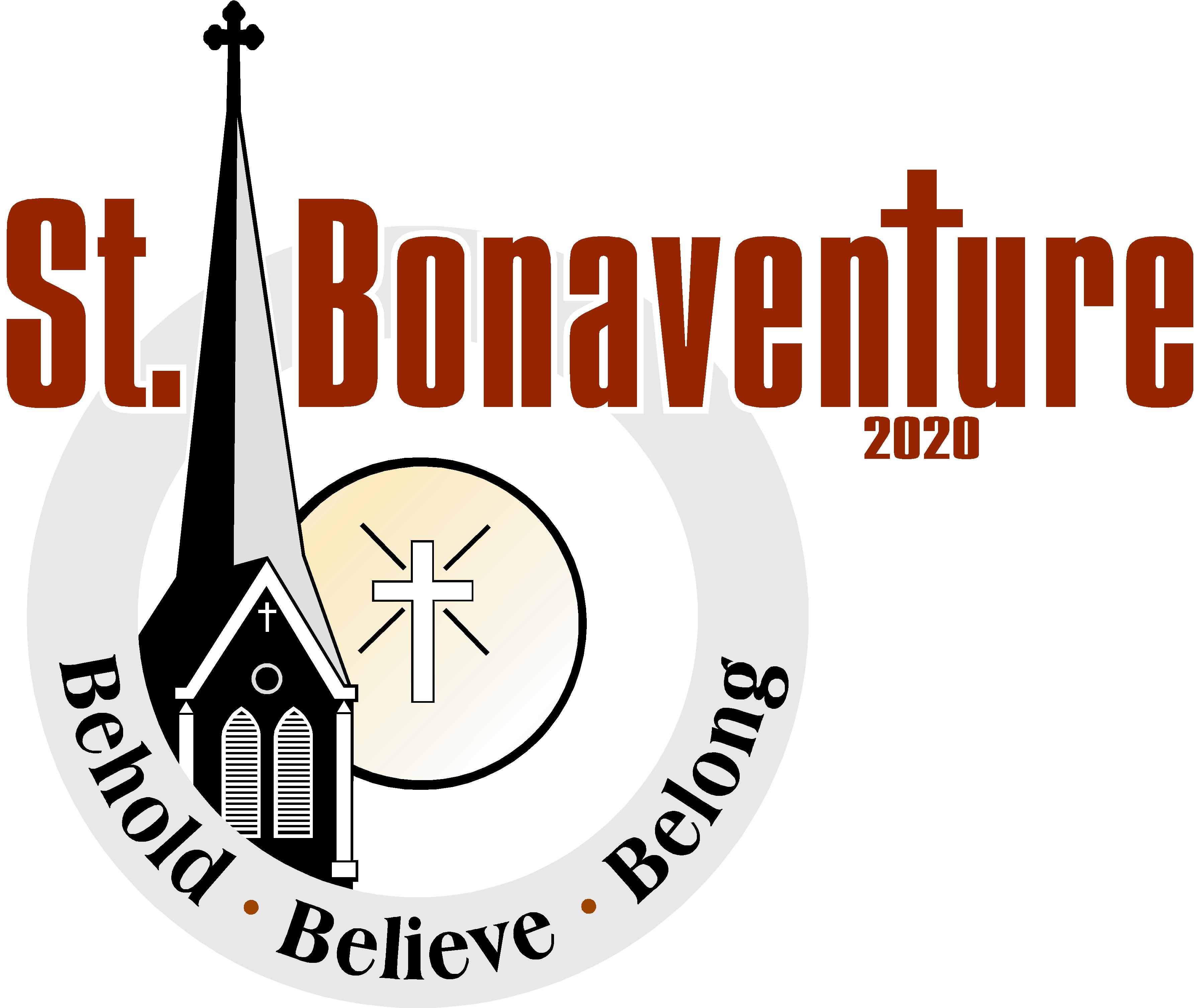 Parish bulletins saint bonaventure. Invitation clipart bulletin