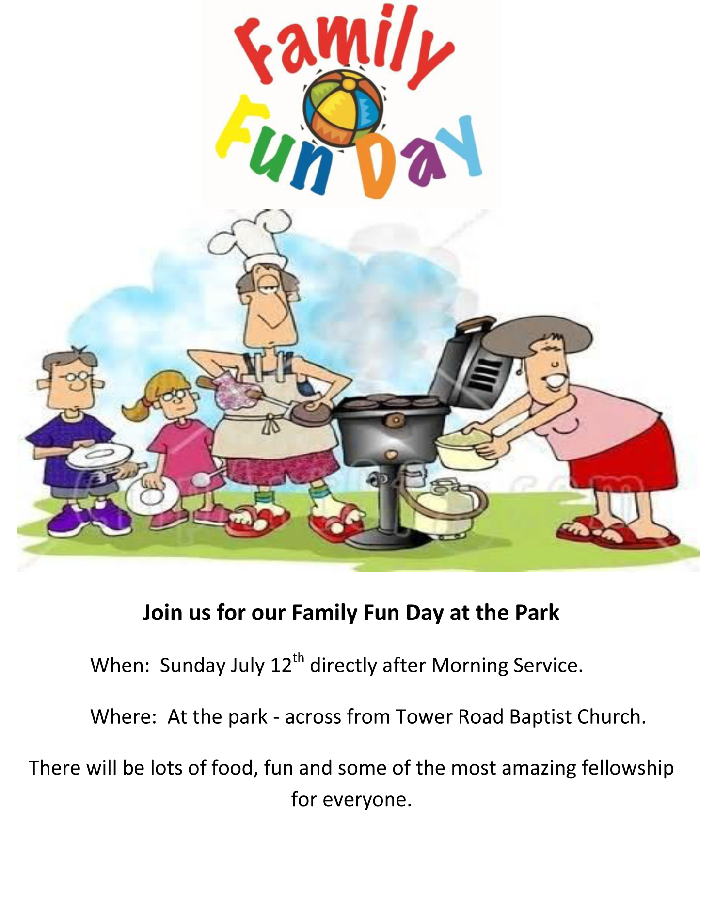 Join us for our. Pastor clipart family food