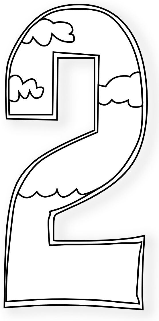 Heaven clipart creation gods. Days numbers black white