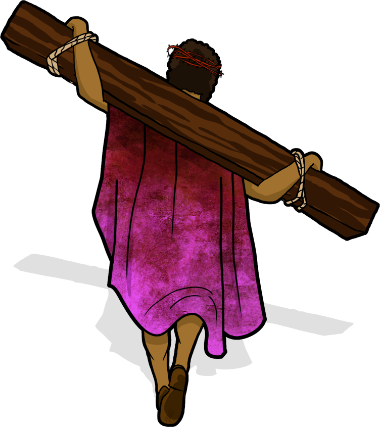 Yeshua jesus carries his. Rabbi clipart religious leader