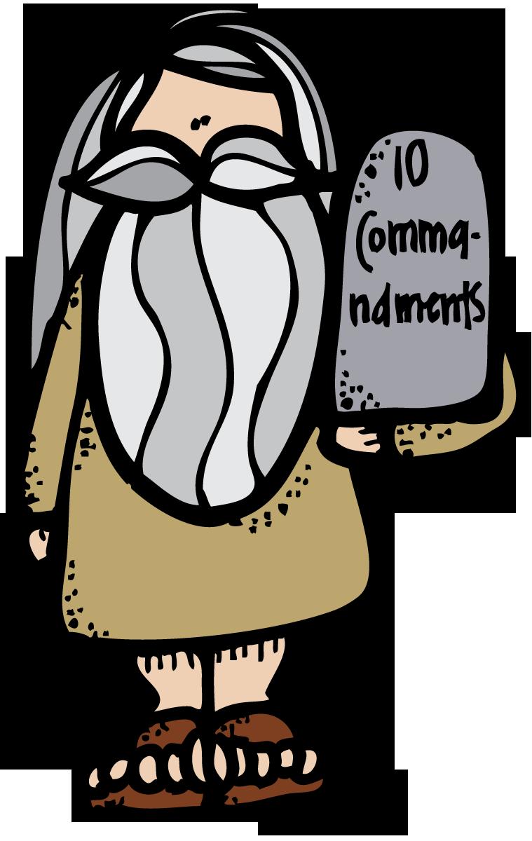 Lamp clipart bible. Melonheadz lds illustrating commandments