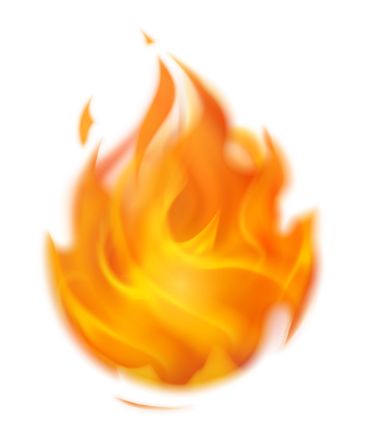 Flaming fire png picture. Flames clipart cute