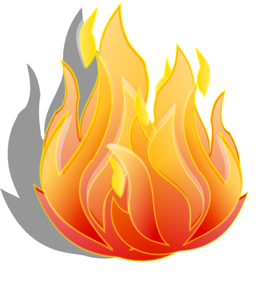 Flames clipart cute. Fire extinguisher pictures clip