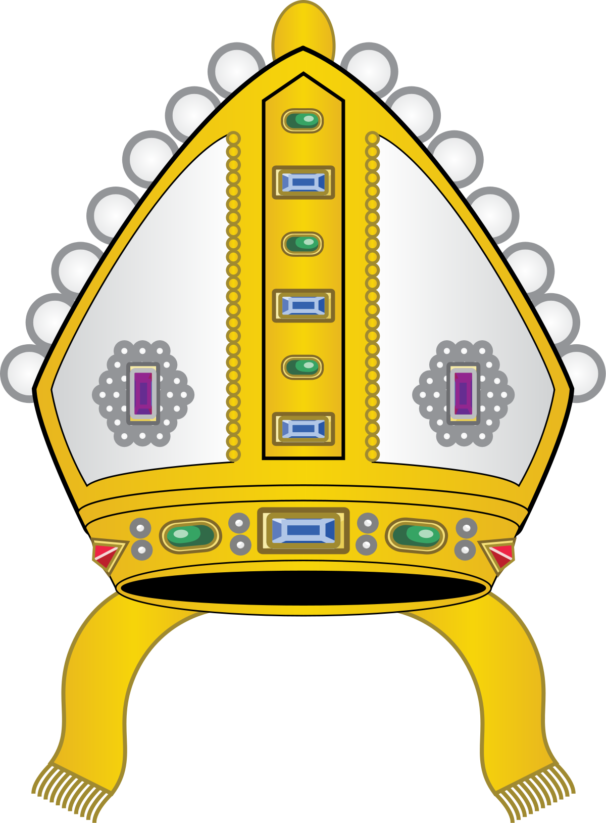Hat clipart pharaoh. Mitre wikipedia