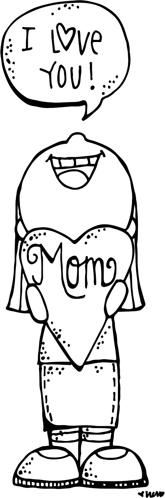Melonheadz illustrating pinterest clip. Lds clipart mothers day