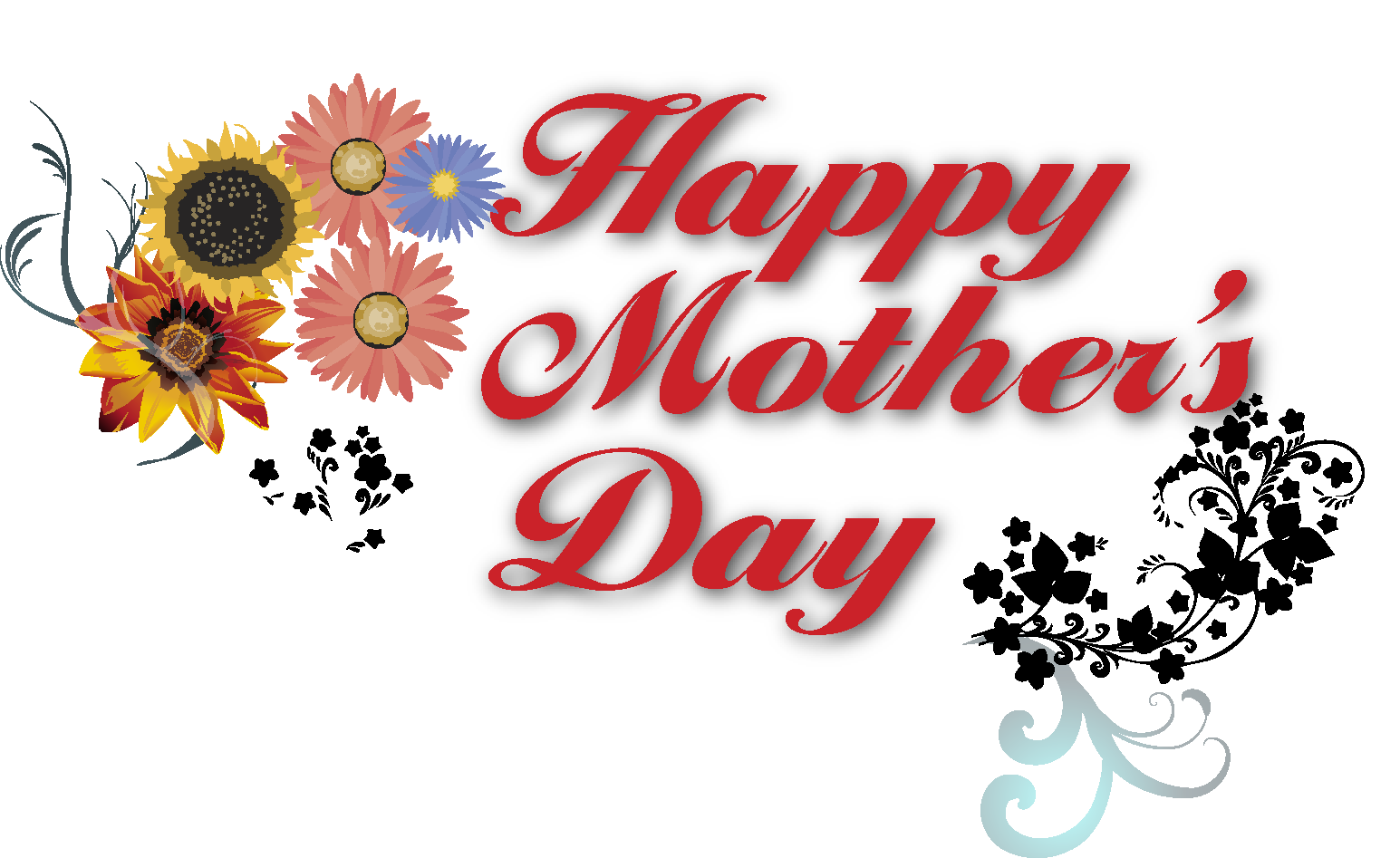 Mother clipart mather. Happy mothers day cards