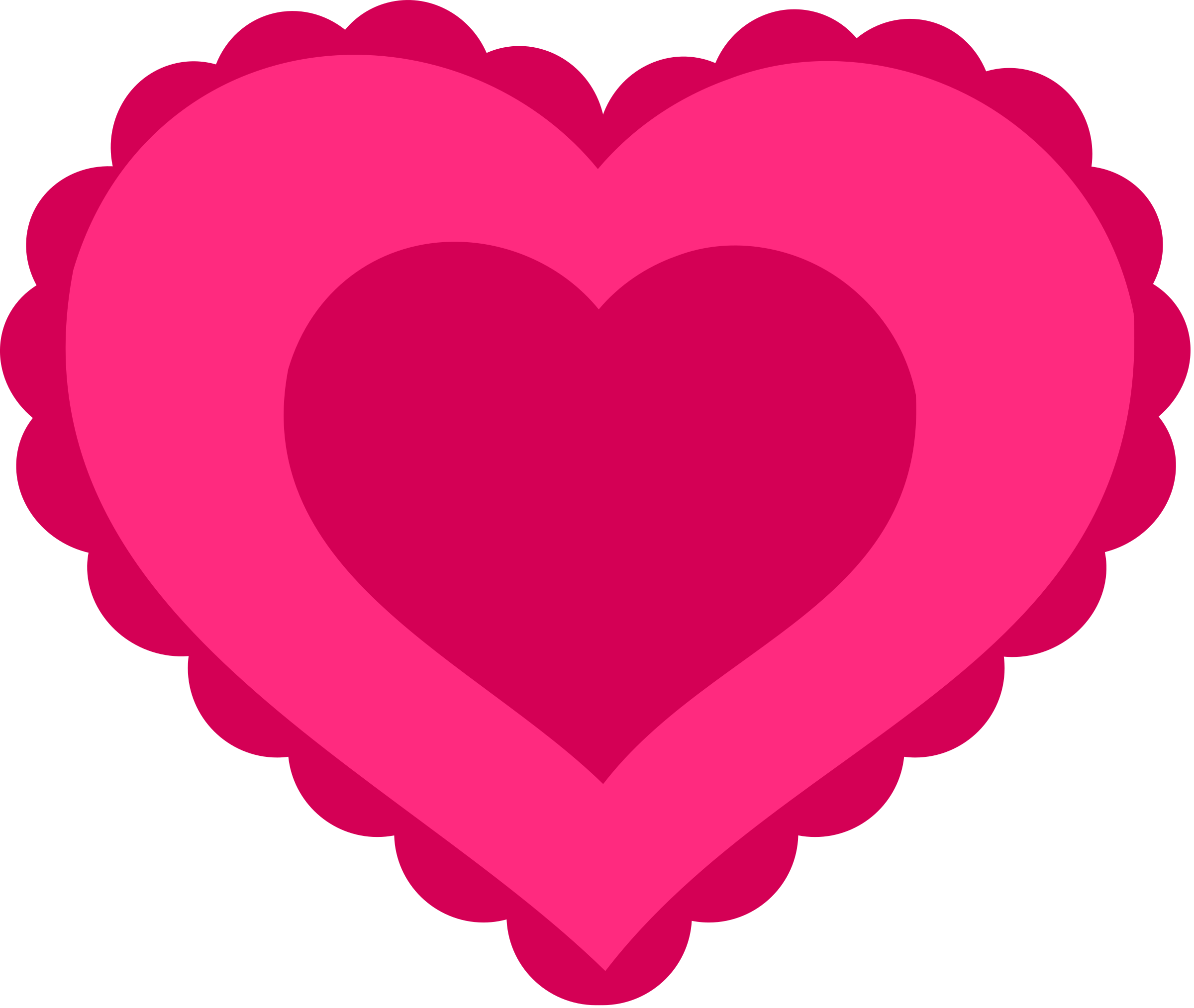 lace clipart heart