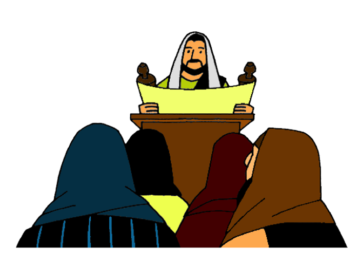 Jesus preaches in nazareth. Curriculum clipart story telling competition