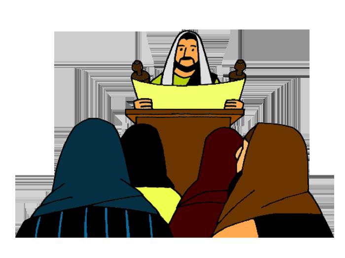 Missions clipart god. Jesus preaches in nazareth