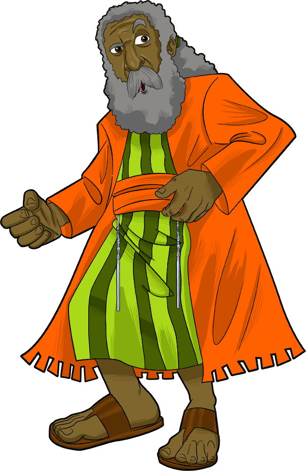 King clipart patriarch. The prophet samuel biblicas