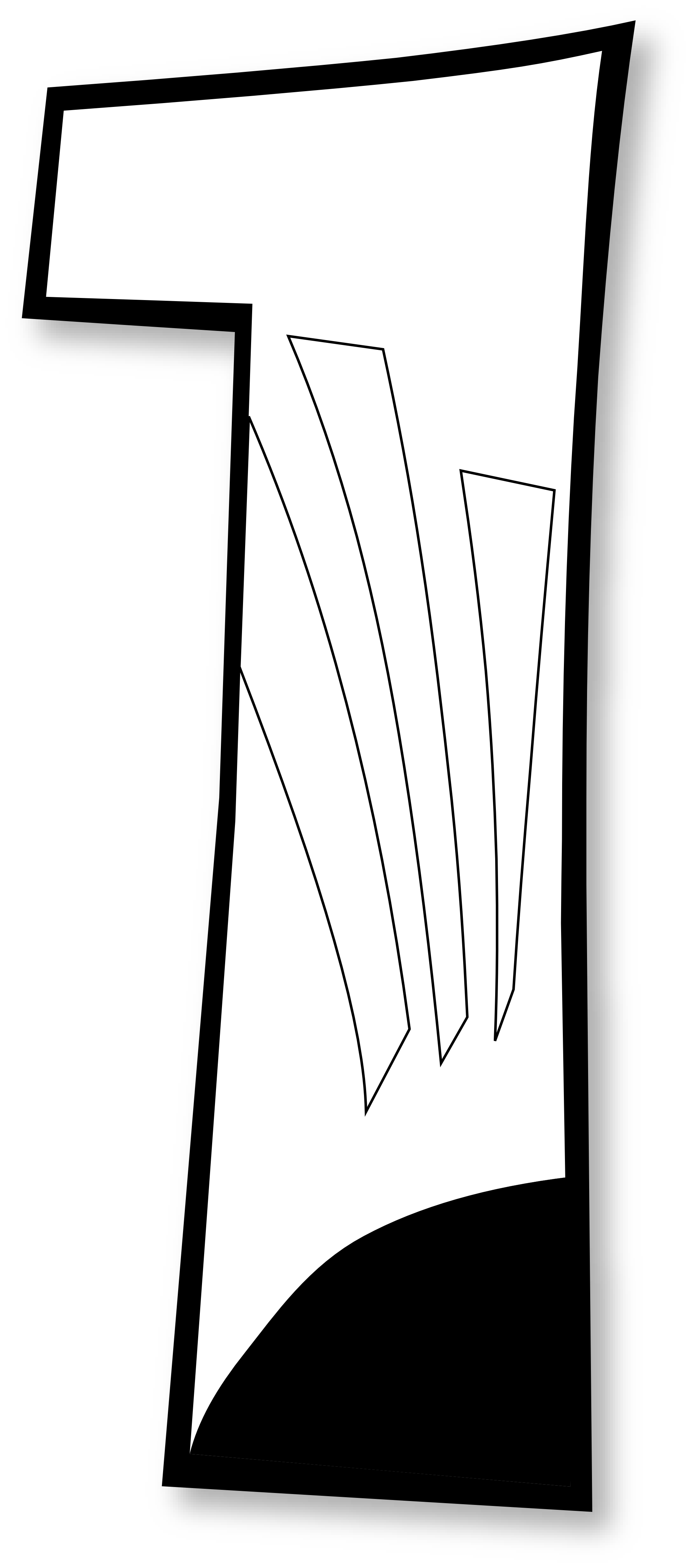 White clipart bible. Colouringbook posted in coloring