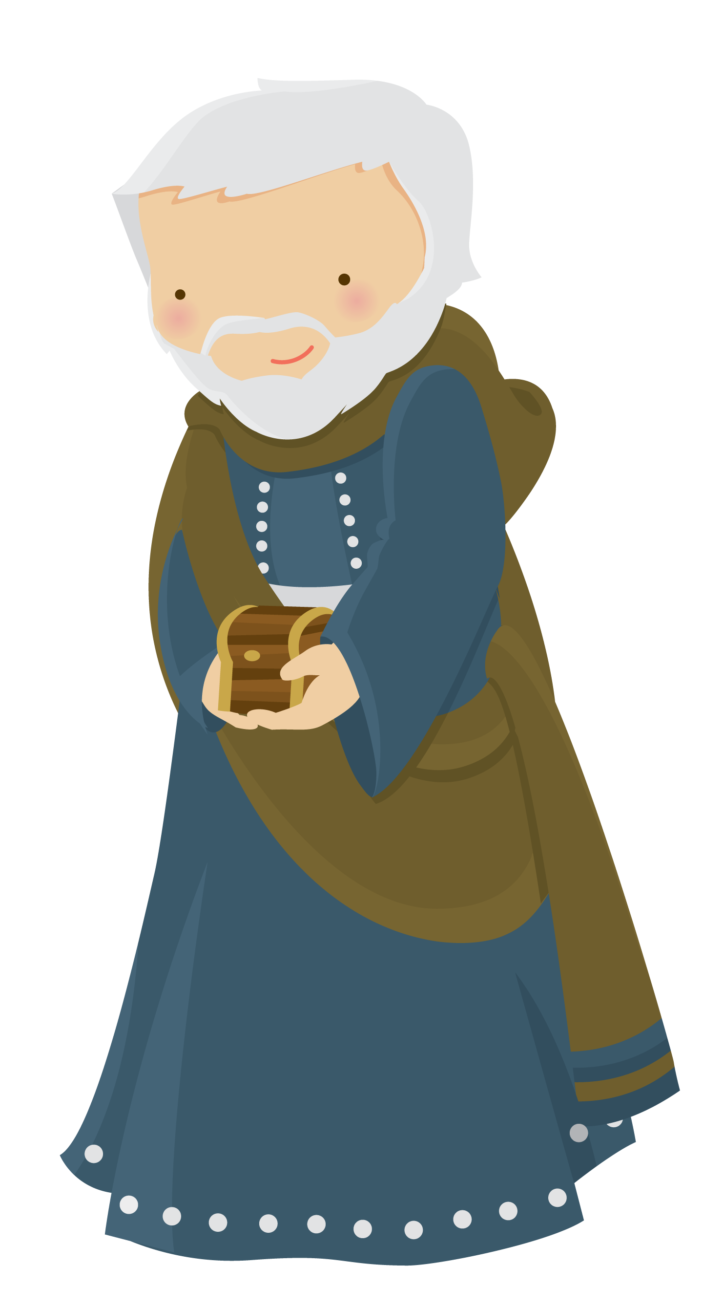Tr s reis magos. Epiphany clipart animated