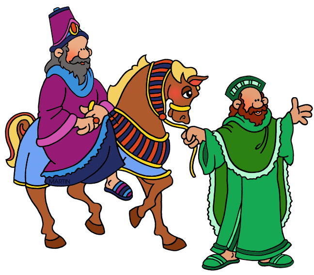 Mordecai jpg cartoon ill. Clipart door passover