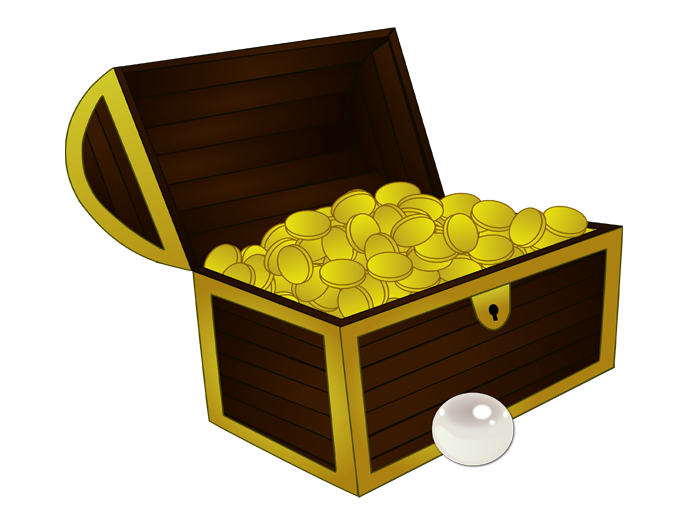 Parables of a hidden. Treasure clipart riches