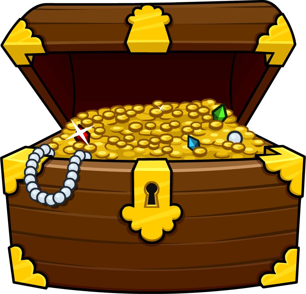 Treasures in heaven let. Treasure clipart golden