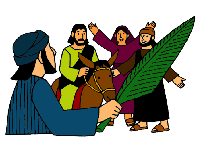 Triumphal entry mission bible. Missions clipart preschool
