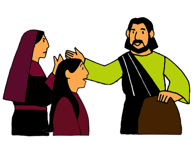 Mary and martha mission. Jesus clipart comfort