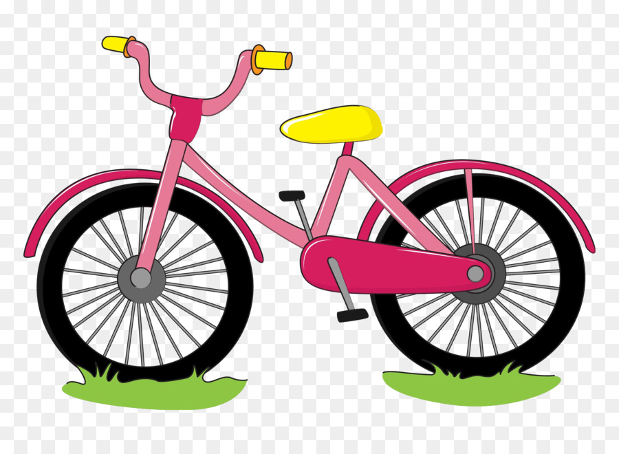 Clipart bicycle. Cartoon drawing at getdrawings