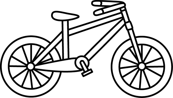 Bicycle clip art images. Clipart bike