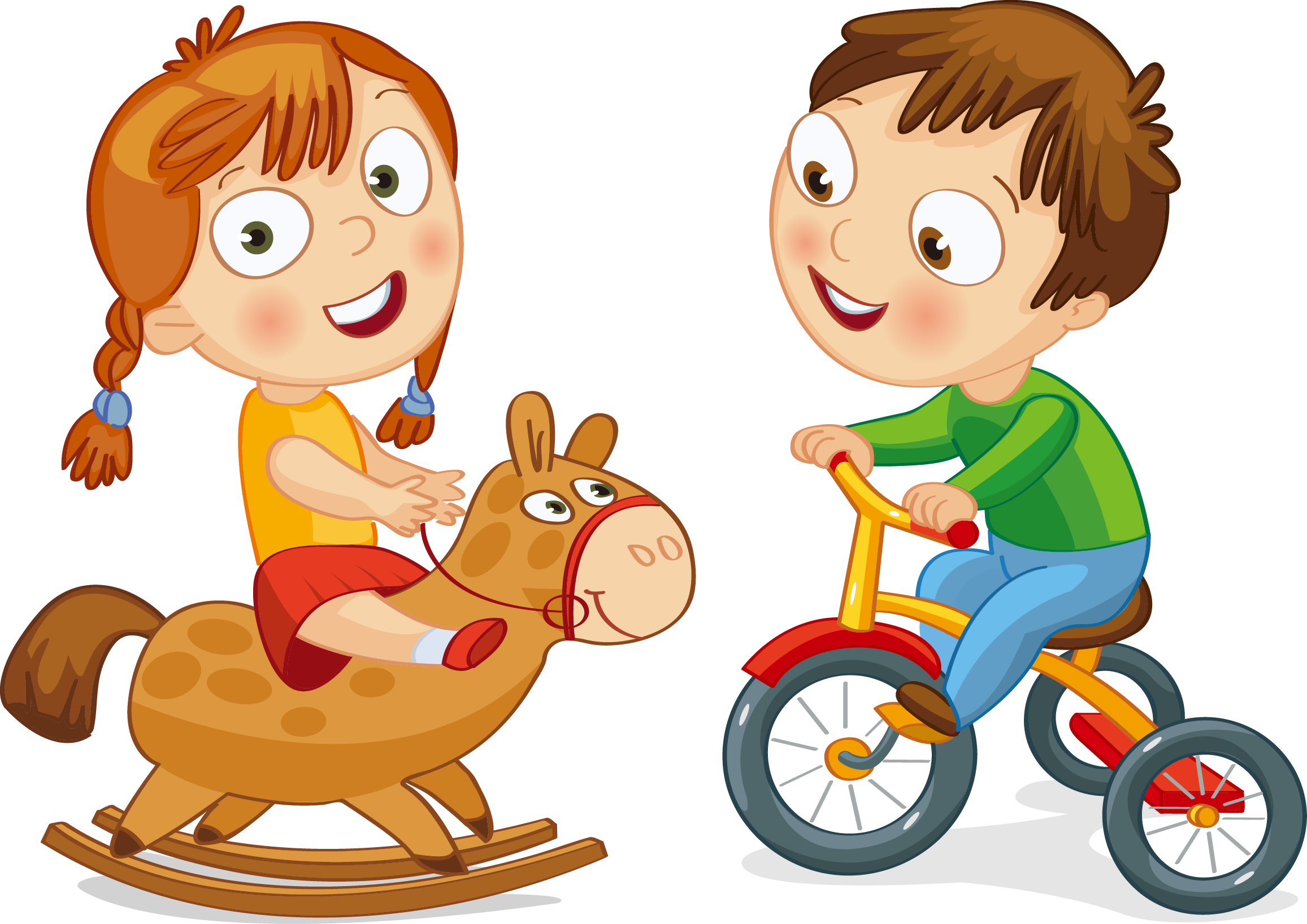 Bicycle cycling motorized tricycle. Clipart bike toddler bike