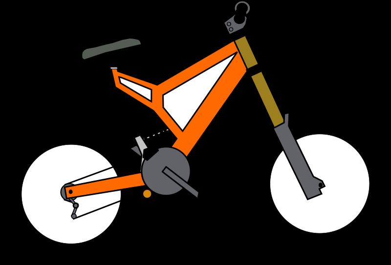 Trail clipart bike trail. Medium image png