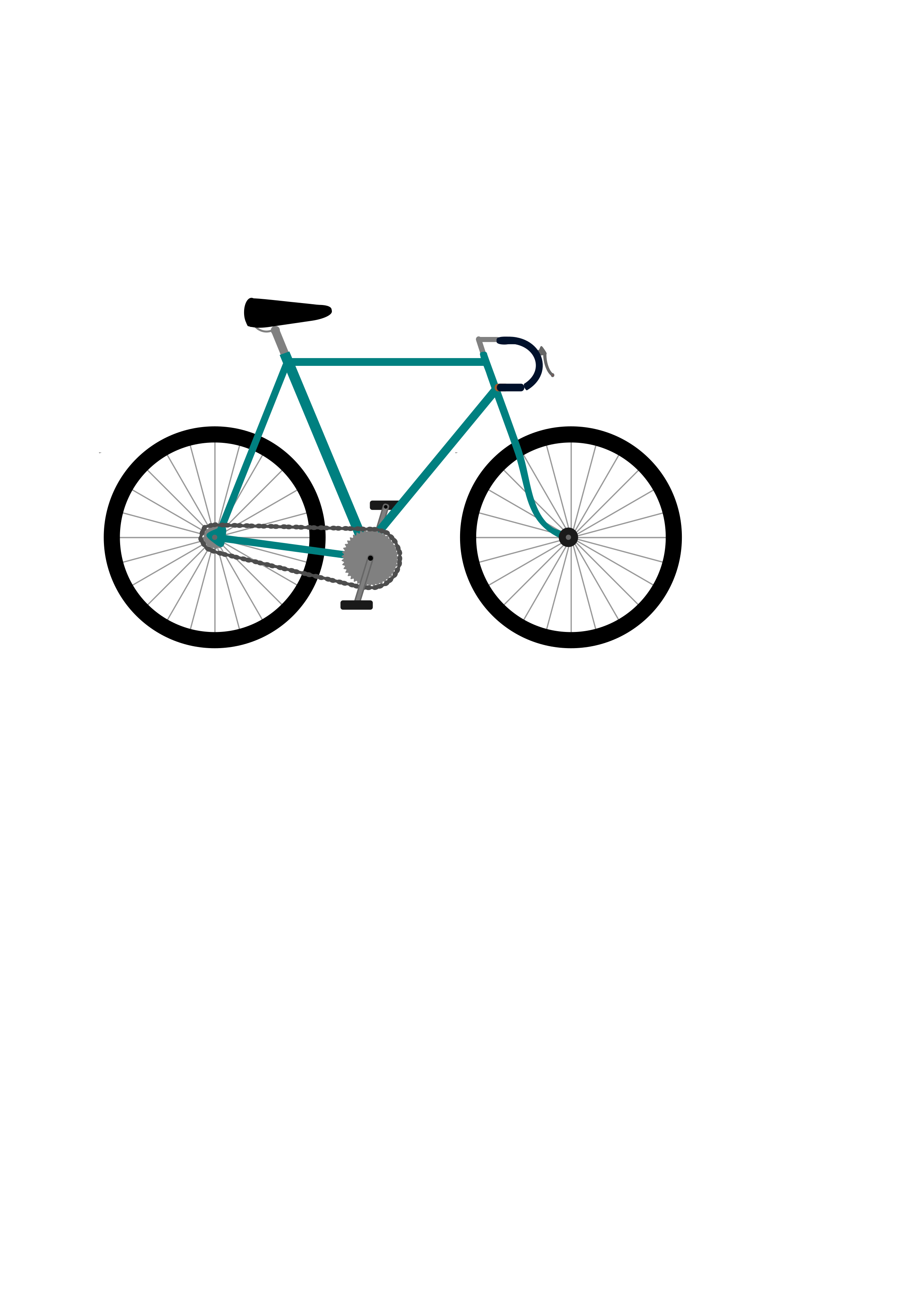 Gear clipart bike gear. Fixed bicycle big image