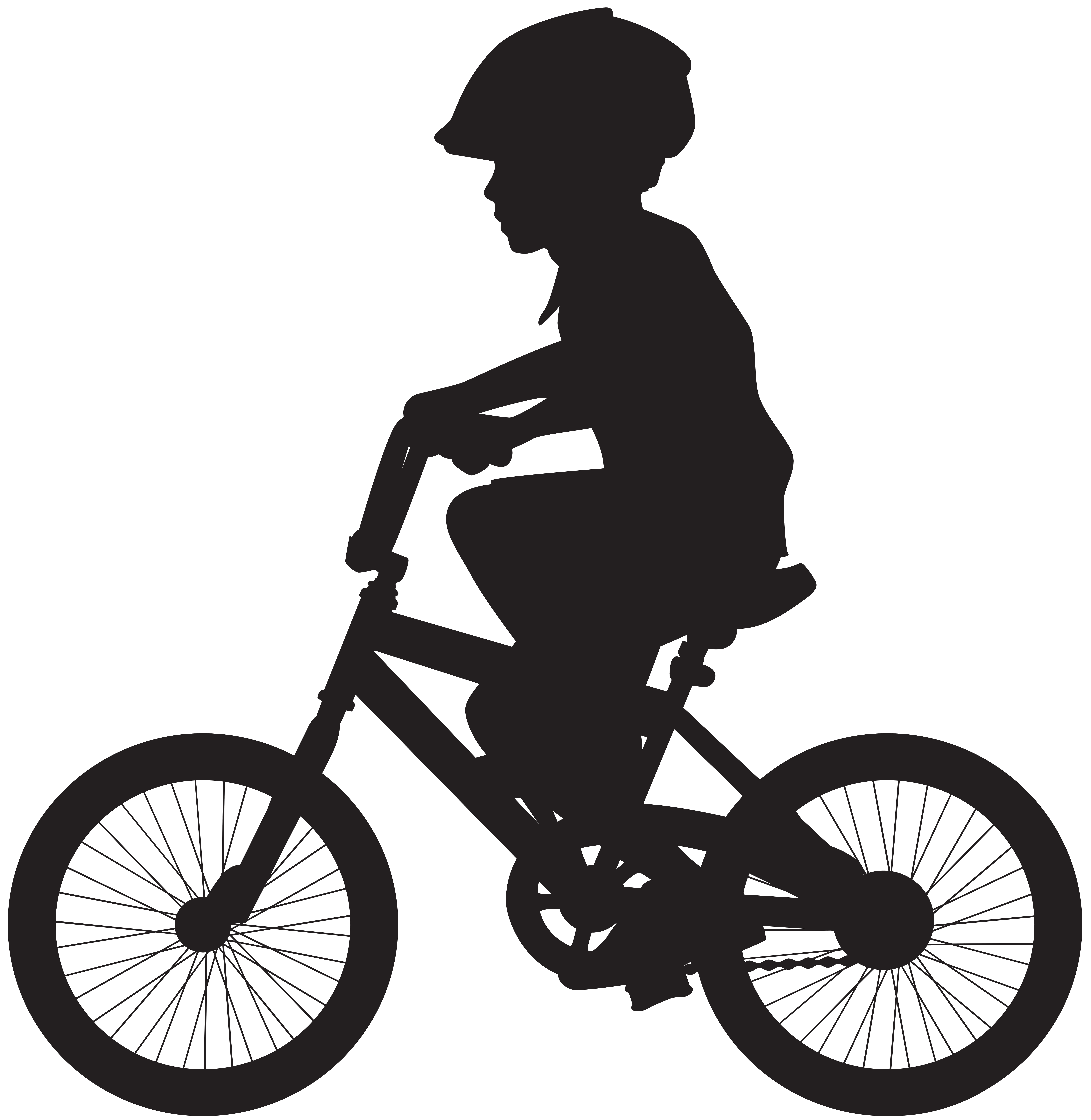 Mountain clipart silhouette. Bicycle bike cycling illustration
