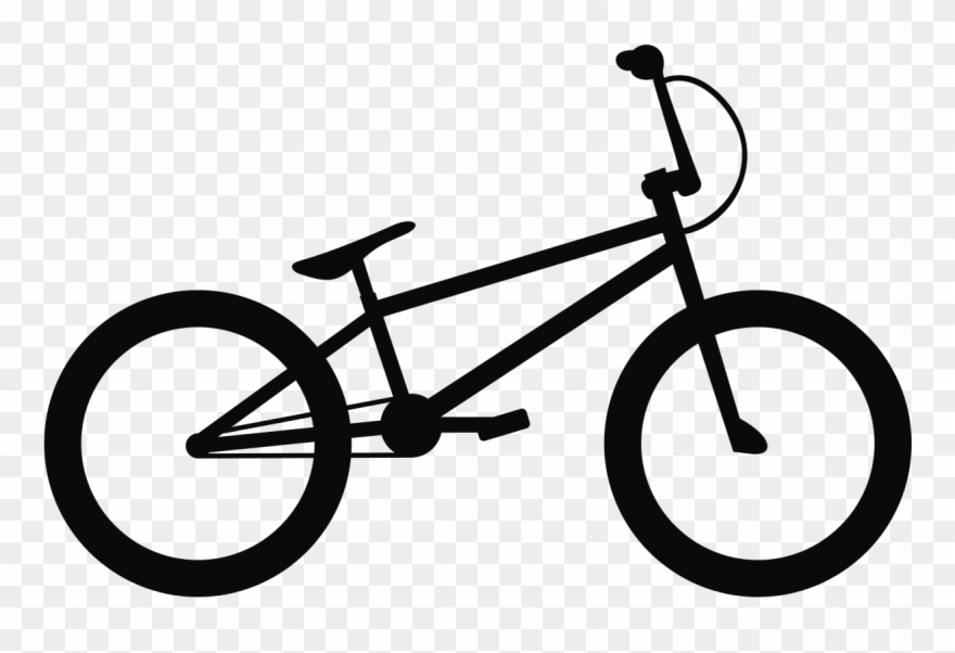 Banner freeuse download drawing. Clipart bike bmx bicycle