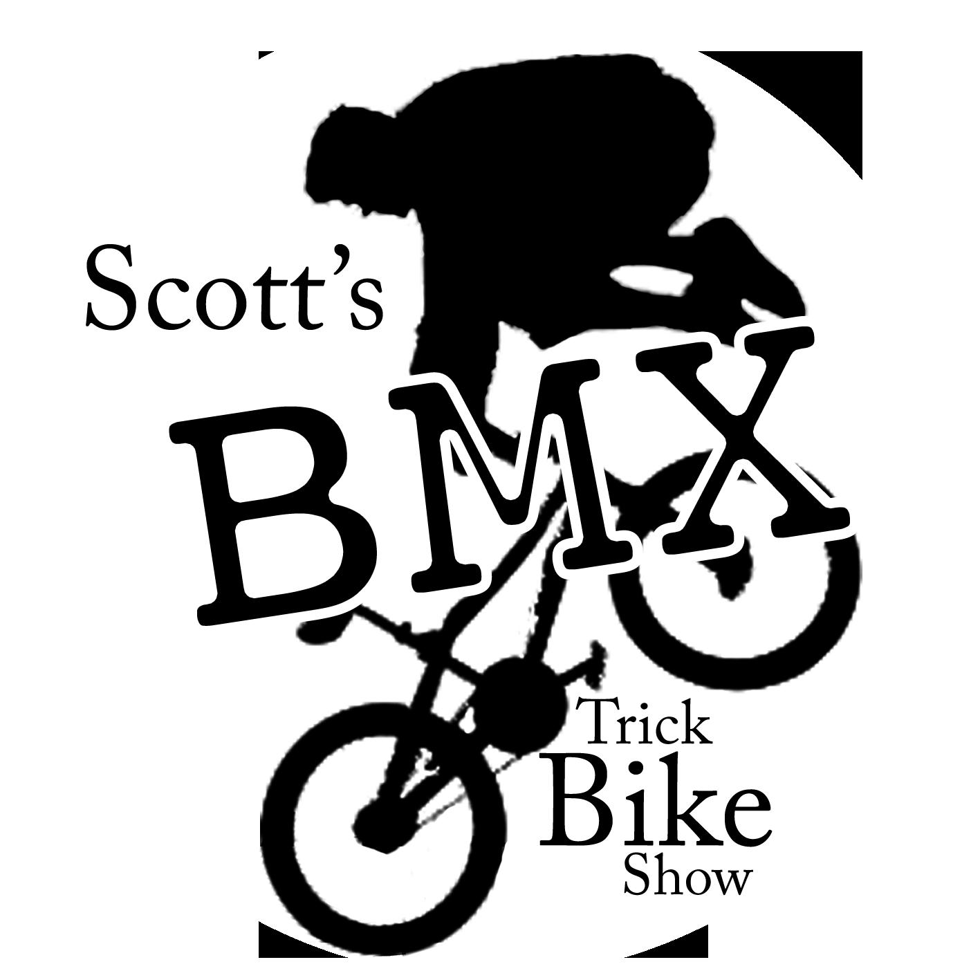 Clipart bicycle bike bmx. Scott s trick show
