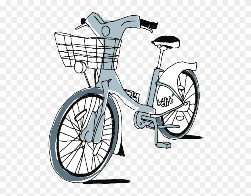 Parisian logo png download. Clipart bicycle bike paris