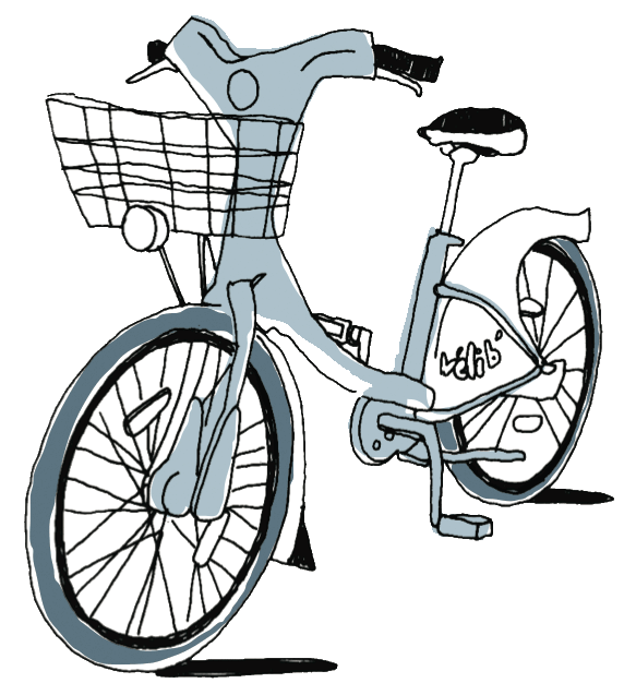 Cycling clipart go ahead. Biking in paris smarterparis