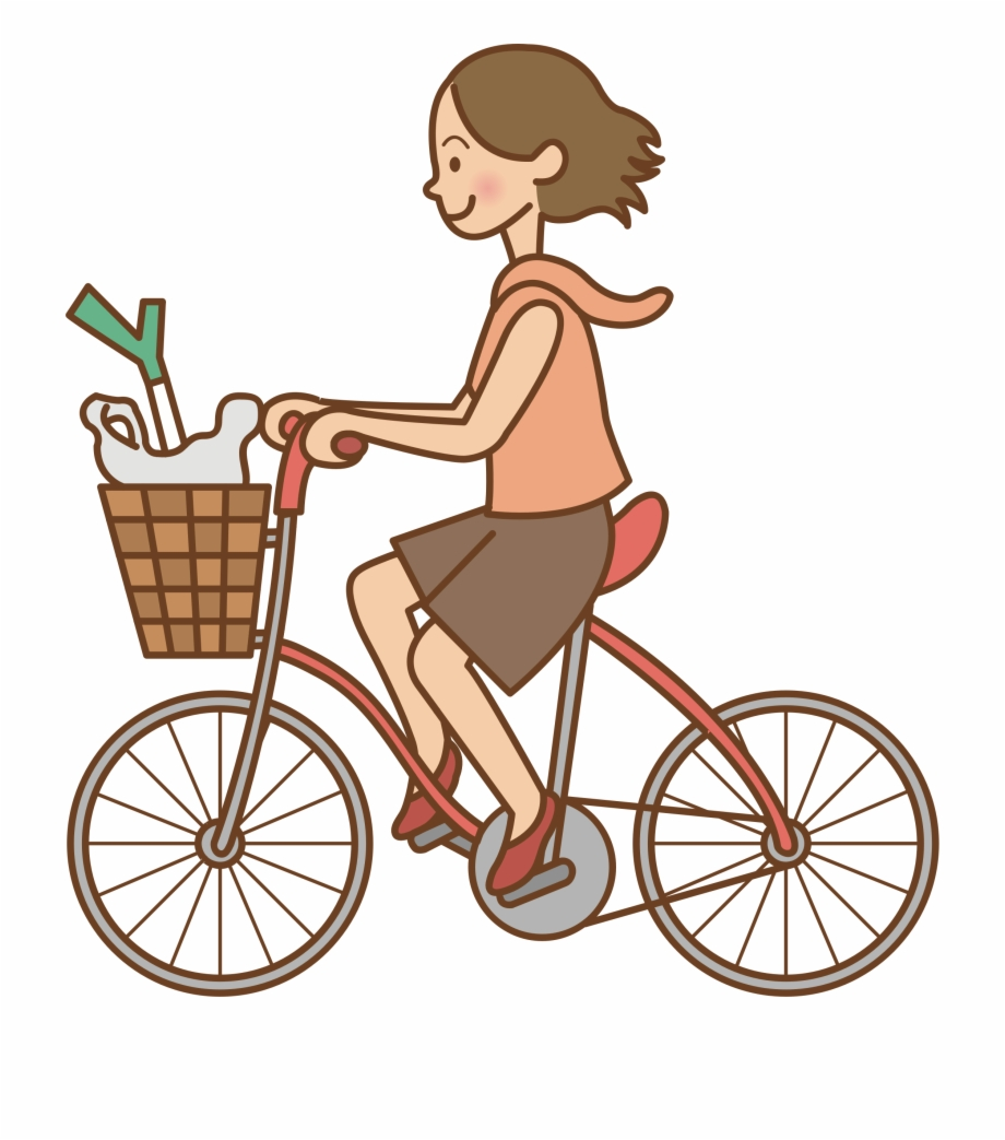 Clipart bike rode. This free icons png
