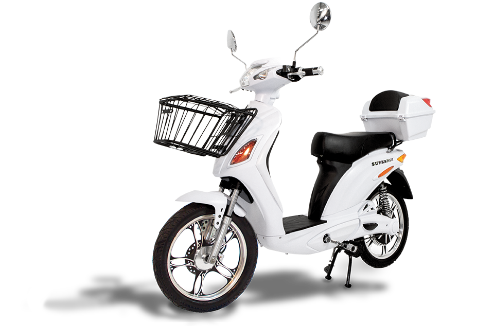 Superfly electric w removable. Cycle clipart bike scooter