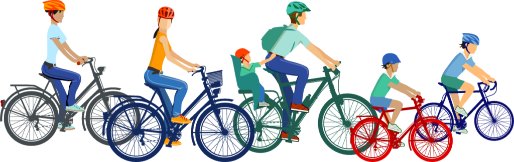 Cycling clipart rode. Where to ride bike