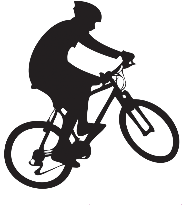 Clipart bicycle bike trail. Brown county mountain biking